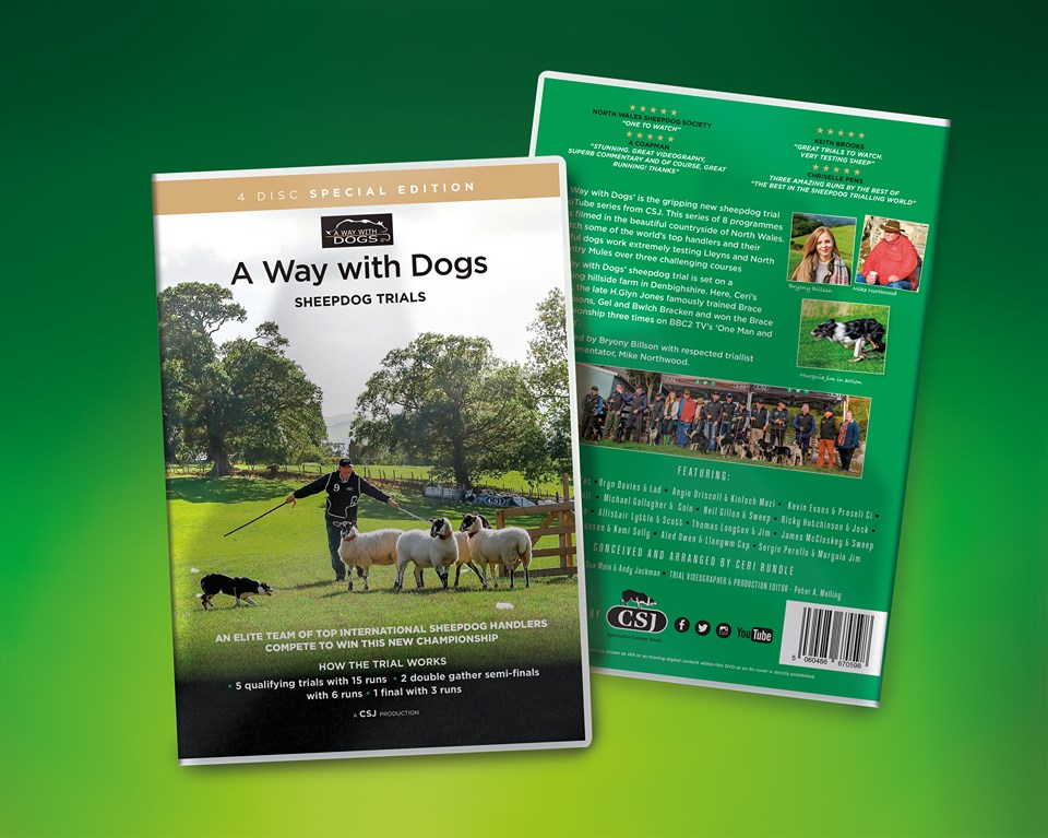 New DVD set of A Way with Dogs